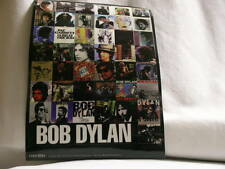 BOB DYLAN Time Out of Mind Columbia promo only Sheet of Bob Dylan Album STICKERS