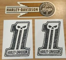 STICKER 99344-79v ONE DECAL HARLEY DAVIDSON  LARGE  #1 DECAL