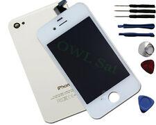 LCD Display mit Backcover für iPhone 4 S weiß inkl Werkzeug