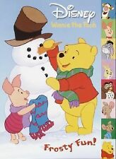 Winnie the Pooh Frosty Fun Tabbed Coloring Book