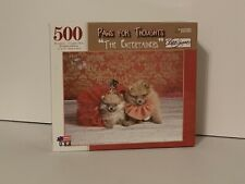 Papercity puzzles paws for thoughts the entertainers 500 piece jigsaw puzzle