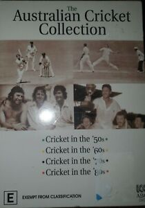 ABC The Australian Cricket Collection Dvds 2006 new sealed