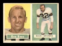 1957 Topps Set Break # 52 Ken Konz EX *OBGcards*