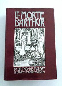 Le Morte D'Arthur Sir Thomas Malory h/b 1985 Harrison House Aubrey Beardsley VGC