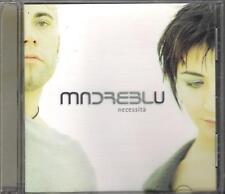 """MADREBLU - RARO CD FUORI CATALOGO """" NECESSITA' """""""