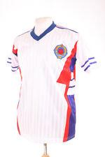 YUGOSLAVIA WHITE AWAY ITALIA 90 1990 RETRO REPLICA FOOTBALL SHIRT M MEDIUM