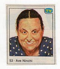 figurina - TV SORRISI E CANZONI - numero 53 AVE NINCHI