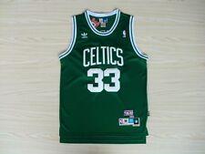 Boston Celtics Larry Bird green mens classical soul swingman jersey