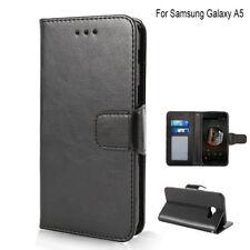 Soporte Cubierta Funda Piel Magnético Billetera Tarjeta para Samsung Galaxy A5