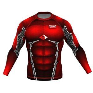 HighType Armor Polska Rash Guard Longsleeve MMA BJJ Training