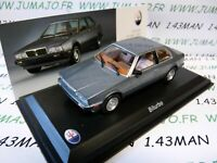 MAS8S voiture 1/43 LEO models : MASERATI collection Biturbo 1982 gris bleu