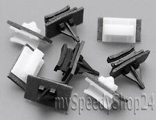 8 X DISCHI ANTERIORE pannelli ciechi barre clip di fissaggio per FORD TRANSIT 4069906
