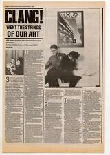 SPK Interview NME Cutting 1984