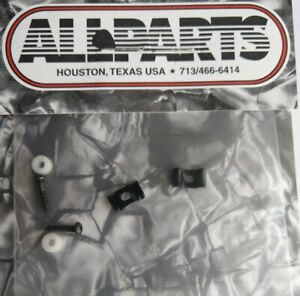 Allparts Ap 0720-003 String Guides STRAT,Butterfly Saddle Black