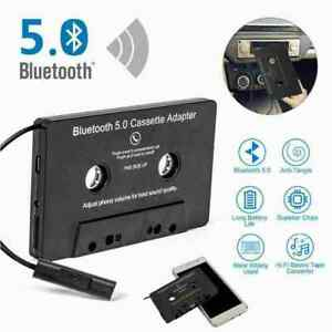 Bluetooth Car Audio Stereo Cassette Adapter Tape Changer . Y5I8