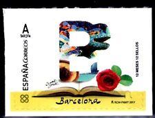 ESPAÑA 2017 1720 Barcelona 12 meses 12 sellos 1v.