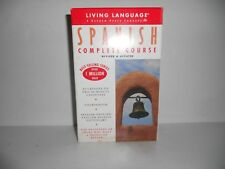 LIVING LANGUAGE COMPLETE SPANISH COURSE SPANISH - ENGLISH DICTIONARY 2 CASSETTES