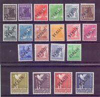 Berlin 1948 - Schwarzaufdruck-Satz MiNr. 1/20 postfrisch - Michel 380,00 € (365)
