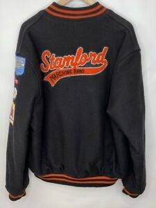 Stamford Marching Band Insulated Wool Varsity Jacket, Size XL, Made in USA