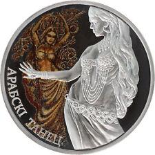 Belarus 2011 20 rubles Arabian Dance Magic of the Dance Proof Silver Coin