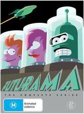 FUTURAMA COMPLETE SERIES BOX SET (27 DISC) FREE SHIPPING AUSTRALIA-WIDE!!!!!!!!!