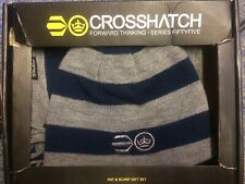 Crosshatch Hat And Scarf Set NEW