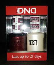 DND Daisy Soak Off Gel Polish Sizzlin Cinnamon 697 LED/UV 15ml gel duo NEW