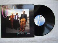 O'JAYS LP EMOTIONALLY YOURS emi / mtl 1060 demo / promo near mint