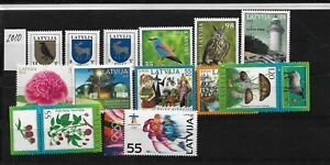 Latvia. 2010  Selection of stamps  MNH  Nr.3