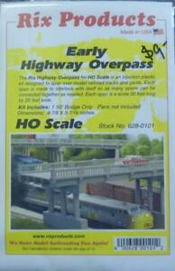 Early Highway Overpass Structure HO Kit - Rix Products #628-0101 vmf121
