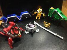 Rare Power Rangers Deluxe Samurai Megazord 100% Complete with Helmet+Sword VGC