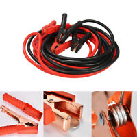 Heavy duty extra 6 metre trade 3000amp car van truck jump leads booster cables