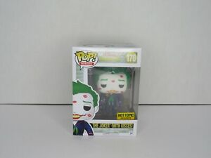 The Joker with kisses Hottopic FUNKO POP DC Super Heroes MIB NEW #170