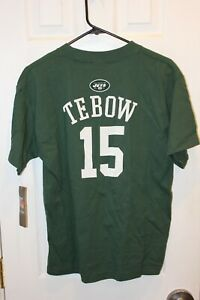 green New York Jets Tim Tebow (15) youth jersey t-shirt (NWT) - youth XL