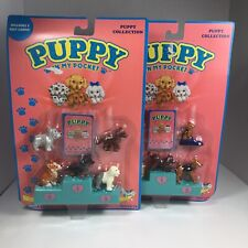 Vintage 1994 Puppy In My Pocket Hasbro Playsets Lot Of 2 New Sealed
