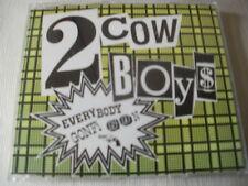 2 COWBOYS - EVERYBODY GONFI GON - 5 MIX DANCE CD SINGLE