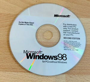 Windows 98 Second Edition Cd