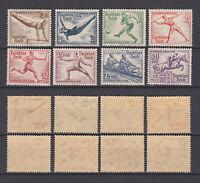 GERMAN REICH 1936 Olympic Game Berlin Mint ** B82-B89 (Mi.609-616)