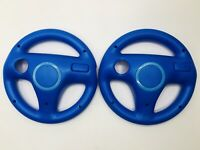 Set of 2* Mario Kart Racing Steering Wheel for Nintendo Wii Remote OEM Official