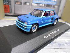 RENAULT 5 Turbo breitbau MKI 1980 BLU BLUE MET nuovo solido 1:43
