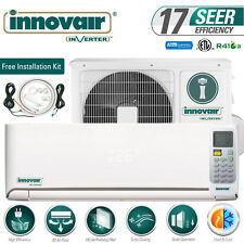 24000 BTU Mini Split Air Conditioner Heat Pump Ductless 230V INNOVAIR 17 SEER