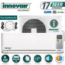 24000 BTU 17 SEER Inverter Ductless Mini Split AC HEAT PUMP System 230V INNOVAIR