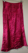 Womans Maxi Skirt Size 18/20 Red Geometric Print Long Peasant Boho Skirt Venezia