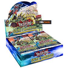 Yu-Gi-Oh Spirit Warriors Sealed Booster Box of 24 Packs - Six Samurai: TCG Cards