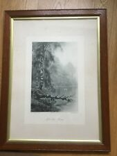 """F.W Hayes ( 1848-1918)Original Victorian framed print """"After the Storm"""""""