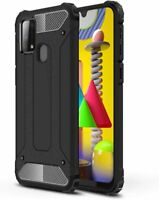 For Samsung Galaxy M31 Case Hard Armour Cover Shockproof Heavy Duty Rugged