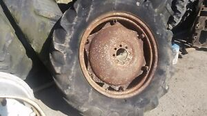 Massey Ferguson 135 Rear Wheel and Tyre 12.4/11-28. 1Please check by the photos