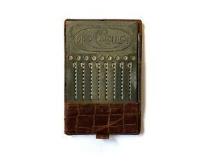 Pro Calculo! (Otta Meuter, Germany, 1920-1928) Addiator Calculator
