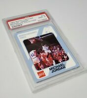 1989 North Carolina #14 Michael Jordan Collegiate Collection PSA 9 Mint