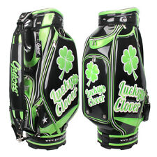 New Guiote Black Clover Golf staff bag caddie cart bag comes with Rainhood